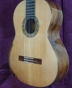 Dan Kellaway guitare classique luthier lattice