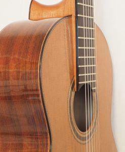 Dake Traghagen guitare classique luthier double-table