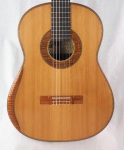 www.guitare-classique-concert.fr luthier Dieter Hopf Portentosa grande furioso