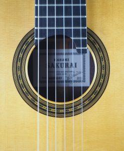 Masaki Sakurai luthier guitare classique Maestro 2015