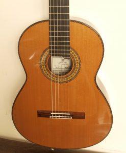 Dieter Hopf grande furioso guitare classique de luthier à vendre