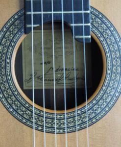 Luthier Manuel Contreras II guitare classique