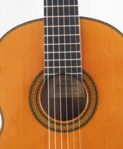 Manuel Contreras guitare classique luthier doble tap 1987 19CON087-07