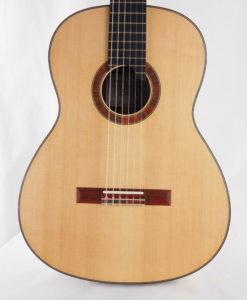 guitare classique Gypsy Rye Bear luthier lattice table 18BEA018-11