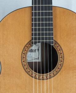Jan Schneider guitare classique luthier No 19SCH454-06